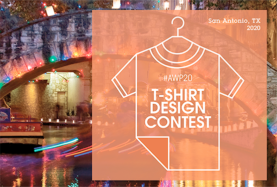 Submit your design for our #AWP20 T-shirt Contest