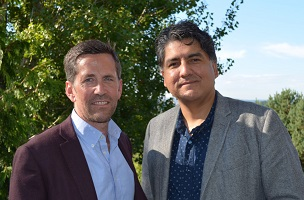 Sherman Alexie and Jess Walter
