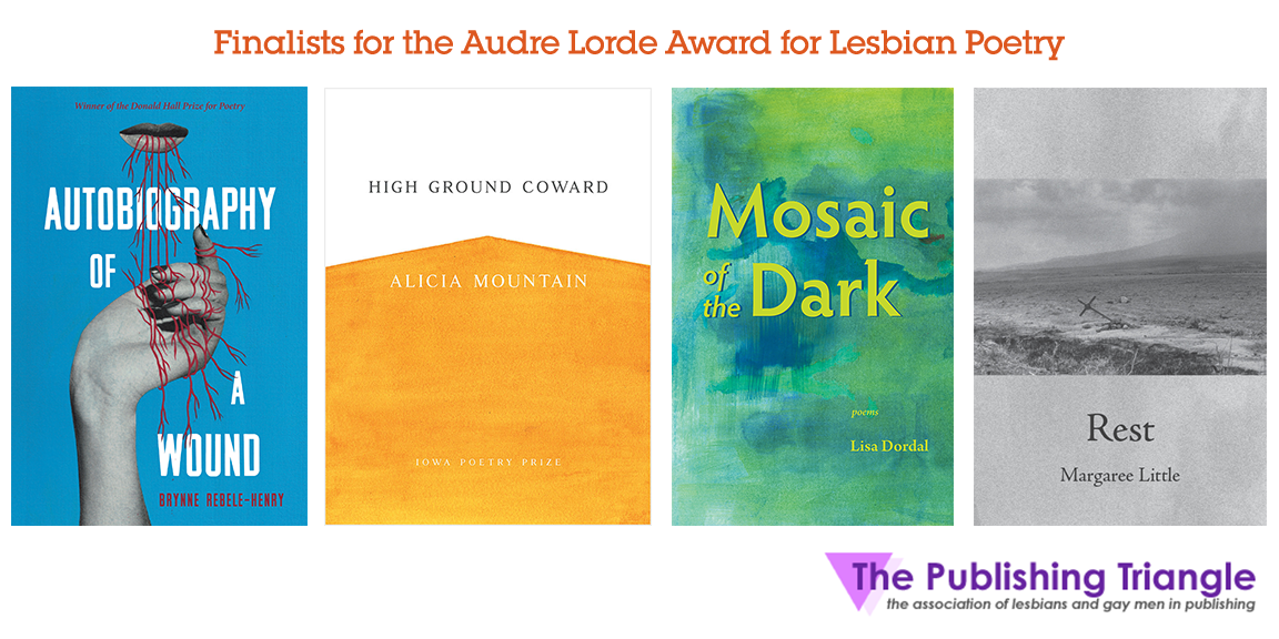 Book covers of the finalist books.